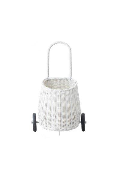 Olli Ella luggy basket white