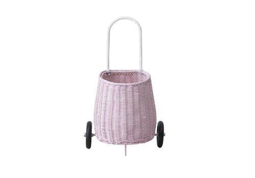 Olli Ella Olli Ella luggy basket pink
