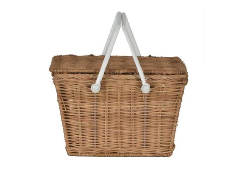 Olli Ella Olli Ella piki picnic basket natural