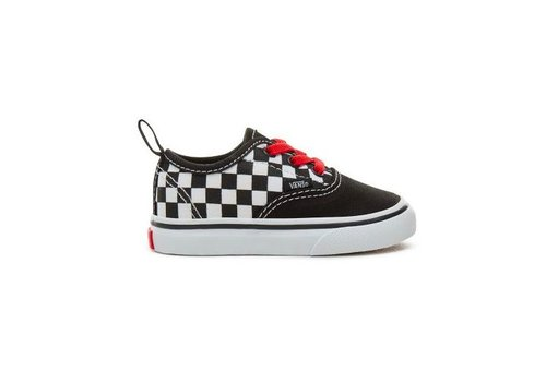 Vans Vans authentic elastic black/red
