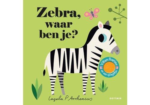 """Boek """"Zebra waar ben je?"""""""