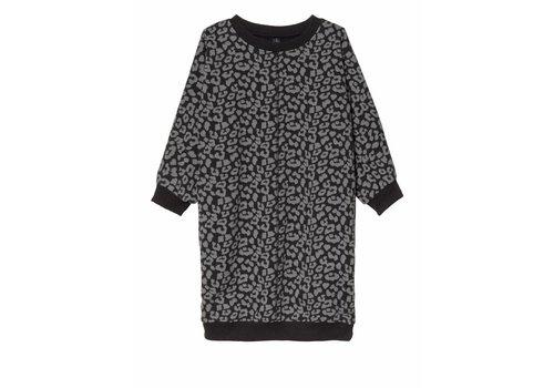 10 Days 10 Days oversized dress leopard back