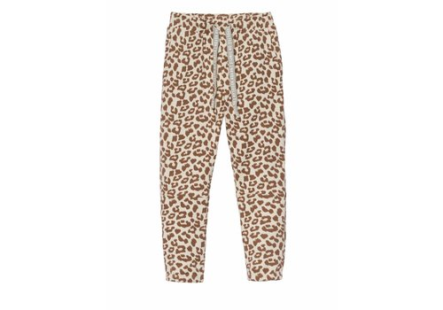 10 Days 10 Days cropped jogger leopard bone