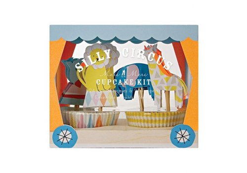Meri Meri Meri Meri Silly circus cupcake kit