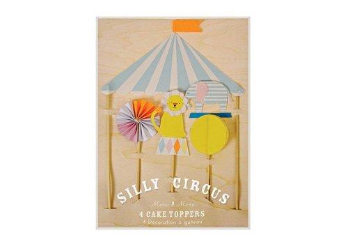 Meri Meri Meri Meri Silly circus taart topper