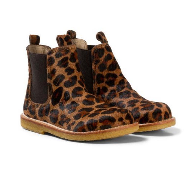 Angulus Starter chelsea boot leo pony brown