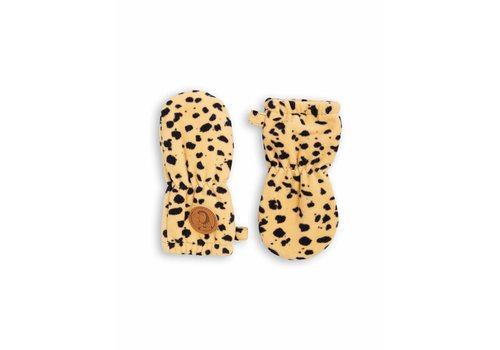 Mini Rodini Mini Rodini handschoenen fleece spot baby