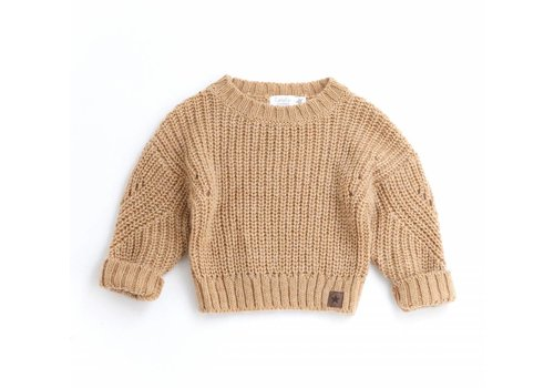 Tocoto vintage Tocoto vintage knit sweater yellow gold