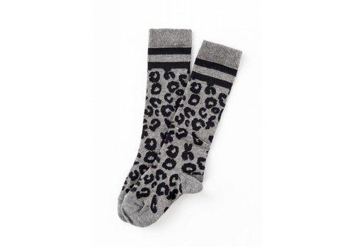 Tocoto vintage Tocoto vintage animal print socks grey