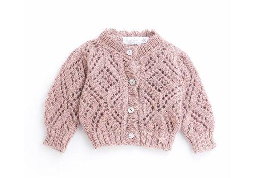 Tocoto vintage Tocoto vintage knit vest pink