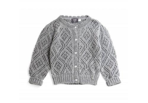Tocoto vintage Tocoto vintage knit vest grey