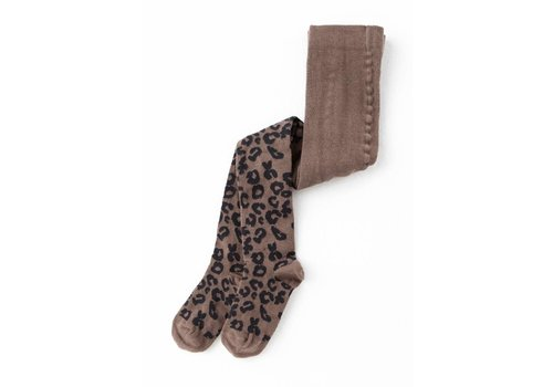 Tocoto vintage Tocoto vintage tights animal print tann