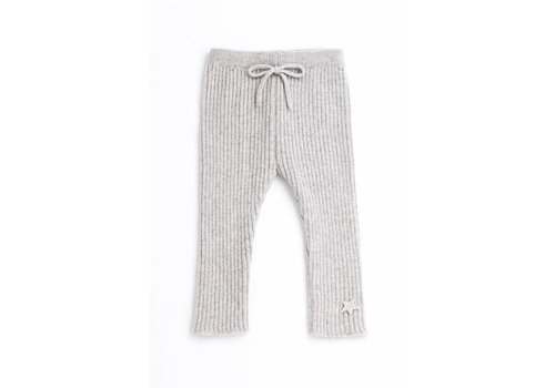 Tocoto vintage Tocoto vintage knitted ribbed pants grey