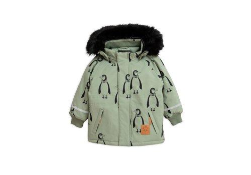 Mini Rodini Mini Rodini penguin parka mint
