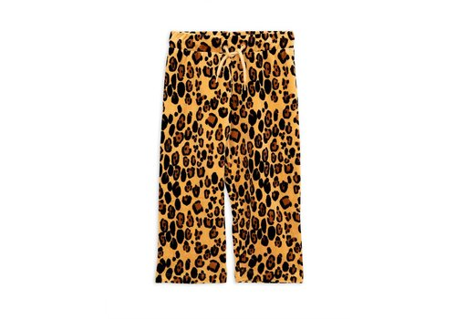 Mini Rodini Mini Rodini sweatpants leopard velours