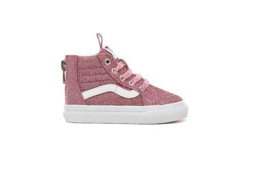 Vans Vans sk8-hi zip pink glitter