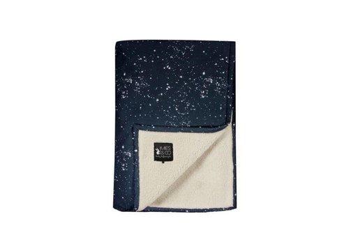 Mies & Co Mies & Co Soft teddy wieg deken Galaxy parisian night