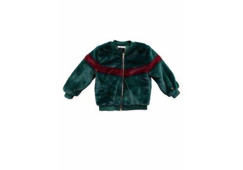 Ammehoela Ammehoela moon reversible jacket green