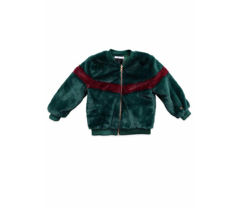 Ammehoela moon reversible jacket green