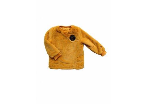 Ammehoela Ammehoela minou fur sweater oker