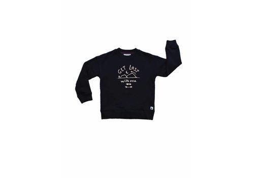 Ammehoela Ammehoela rocky sweater gold print