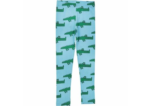 Hugo loves tiki Hugo loves tiki legging blue crocodile