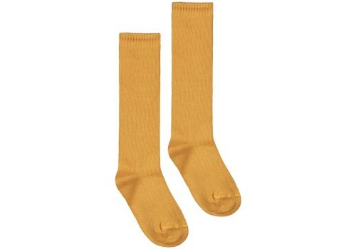 Gray label Gray Label long ribbed socks mustard