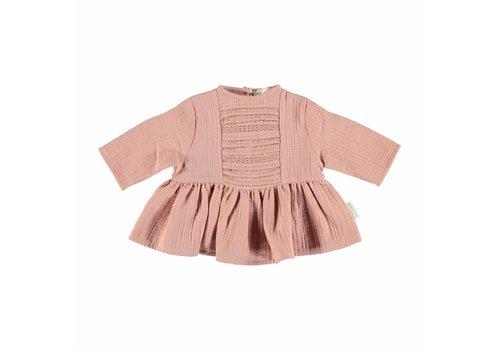 Piupiuchick Piupiuchick romantic shirt lace pink