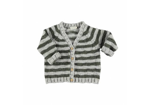 Piupiuchick Piupiuchick  vest grey khaki