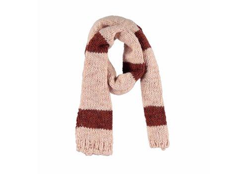Piupiuchick Piupiuchick  knitted scarf pink brick