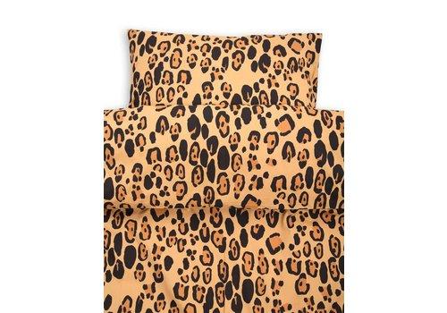 Mini Rodini Mini Rodini dekbedovertrek set leopard