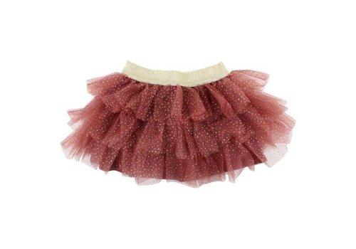 Enfant Enfant skirt horizon glitter roze dust