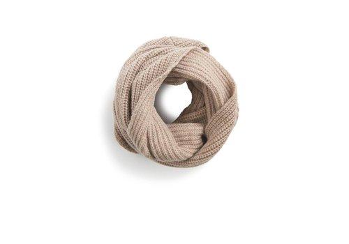 Phil & Phae Phil & Phae Woolmix knit scarf oatmeal melange
