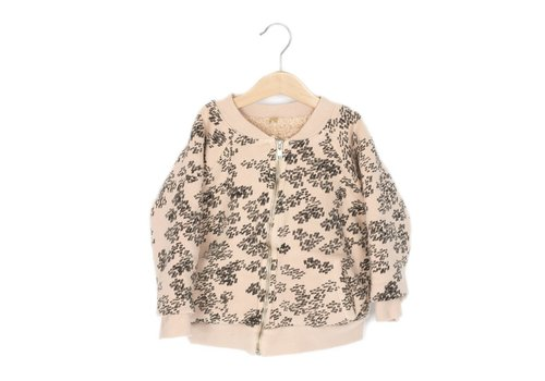 Lotie kids Lotie kids bomber teddy rainprint