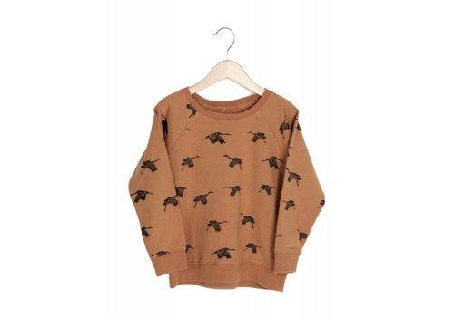 Lotie kids Lotie kids sweatshirt birds flame