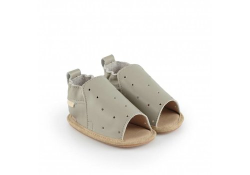 Boumy Boumy Sam Pale grey leather