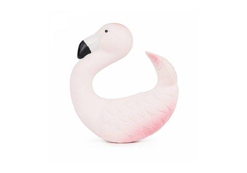 Oli en Carol Oli en Carol bijtspeelgoed flamingo
