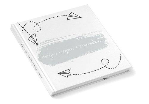 Kidooz Kidooz 'mijn negen maanden boek airplanes mint'