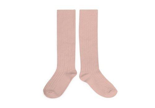 Collegien Collegien knee socks rose quartz