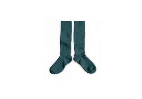Collegien Collegien knee socks fond marin