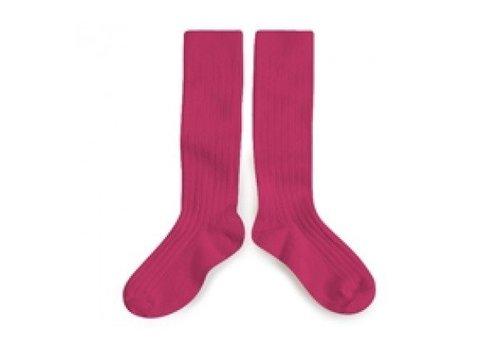 Collegien Collegien knee socks pink lady