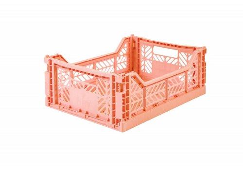 Ay-Kasa Ay-Kasa folding crate salmon pink