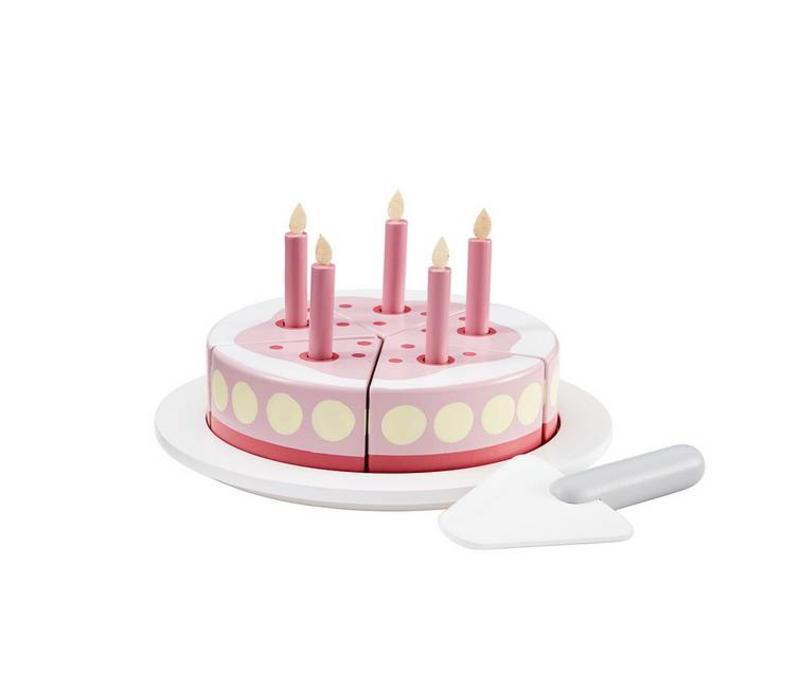 Kids concept taart roze