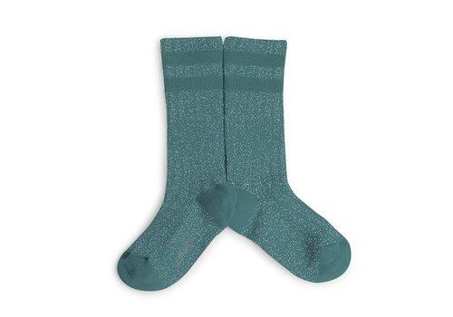 Collegien Collegien glitter socks embrun