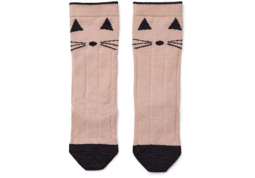 Liewood Liewood knee socks cat rose