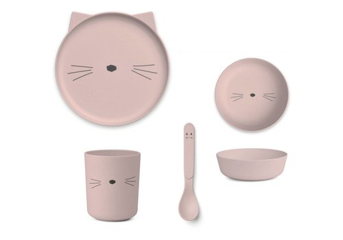 Liewood Liewood servies set cat rose