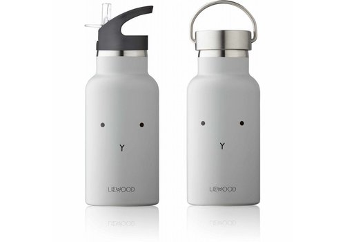 Liewood Liewood drinkfles konijn grijs