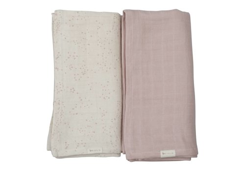 Fabelab swaddle set van 2 autumn mist
