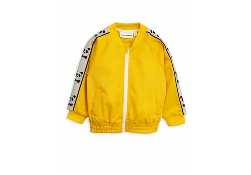 Mini Rodini Mini Rodini panda jacket yellow