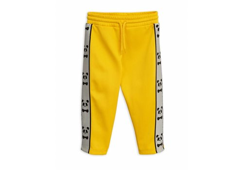 Mini Rodini Mini Rodini panda pants yellow